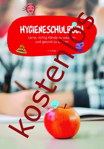 Vorschaugrafik 1 für das kostenlose Arbeitsblatt Hygieneschulbuch von Lehrermaterial.de.