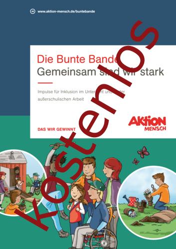 Vorschaugrafik 1 für das kostenlose Arbeitsblatt Handreichung 'Die Bunte Bande - Impulse für Inklusion in der pädagogischen Arbeit mit Kindern' von Lehrermaterial.de.