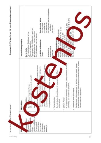 Vorschaugrafik 1 für das kostenlose Arbeitsblatt Lernszenarien (I) - Der Zahlenfresser von Lehrermaterial.de.