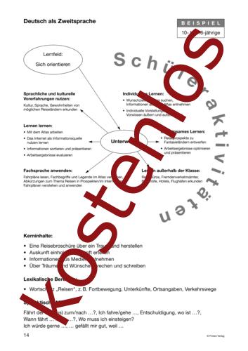 Vorschaugrafik 1 für das kostenlose Arbeitsblatt Lernszenarien (III) - Schüleraktivitäten von Lehrermaterial.de.