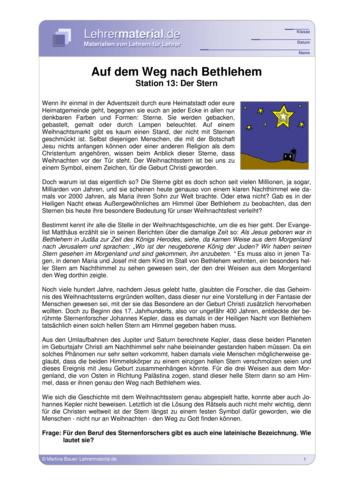 Vorschaugrafik 1 für das  Arbeitsblatt Auf dem Weg nach Bethlehem - Station 13: Der Stern von Lehrermaterial.de.