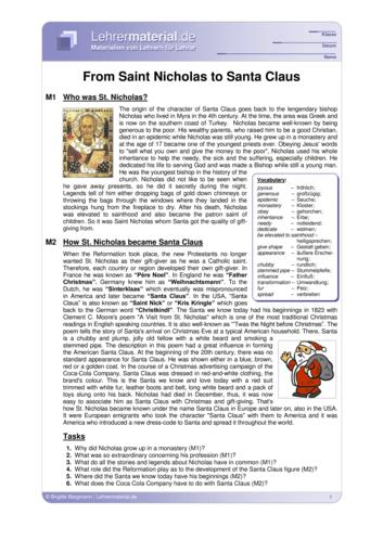 Detailseite für das  Arbeitsblatt From Saint Nicholas to Santa Claus öffnen
