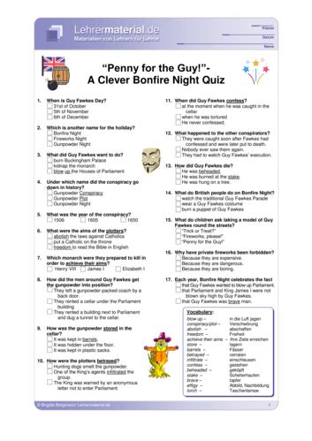 Vorschaugrafik 1 für das  Arbeitsblatt Penny for the Guy! - A Clever Bonfire Night Quiz  von Lehrermaterial.de.