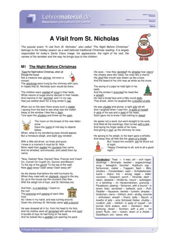 Vorschaugrafik 1 für das  Arbeitsblatt A Visit from St. Nicholas  von Lehrermaterial.de.