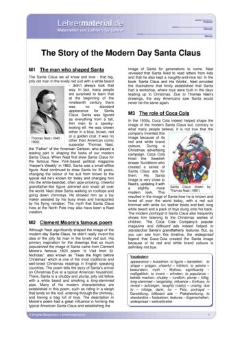 Vorschaugrafik 1 für das  Arbeitsblatt The Story of the Modern Day Santa Claus von Lehrermaterial.de.