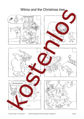 Vorschaugrafik 1 für das kostenlose Arbeitsblatt LOGICO-Box: Christmas tree von Lehrermaterial.de.