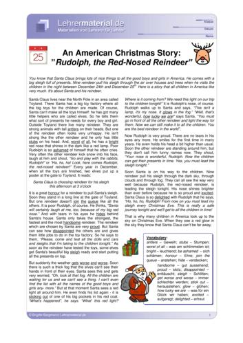 Vorschaugrafik 1 für das  Arbeitsblatt An American Christmas Story von Lehrermaterial.de.