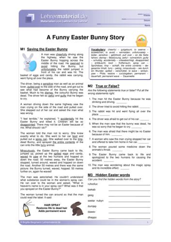 Vorschaugrafik 1 für das  Arbeitsblatt A Funny Easter Bunny Story  von Lehrermaterial.de.