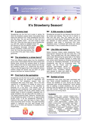 Vorschaugrafik für das  Arbeitsblatt It's Strawberry Season! von Lehrermaterial.de
