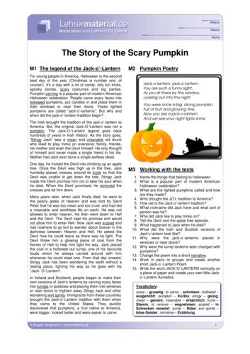 Vorschaugrafik 1 für das  Arbeitsblatt The Story of the Scary Pumpkin von Lehrermaterial.de.