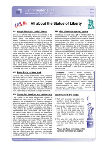 Vorschaugrafik 1 für das  Arbeitsblatt All about the Statue of Liberty von Lehrermaterial.de.