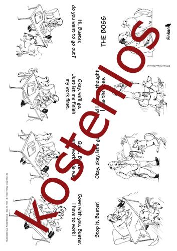 Vorschaugrafik 1 für das kostenlose Arbeitsblatt Pocket stories - The Boss von Lehrermaterial.de.